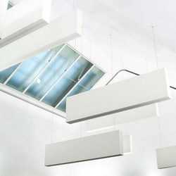 Light & Acoustic Box | Suspended panels | Koch Membranen