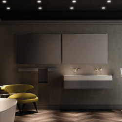Strato Collection - Set 17 | Vanity units | Inbani
