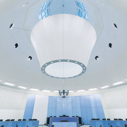 Custom Solutions | Acoustic ceiling systems | Koch Membranen
