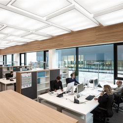 Illuminated ceiling systems | Murs / Plafonds