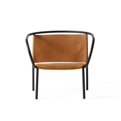 Afteroom Lounge Chair | Cognac | Armchairs | MENU