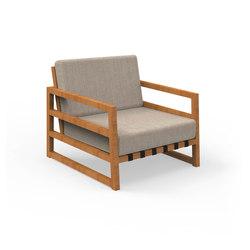 Alabama Iroko | Living Armchair | Gartensessel | Talenti