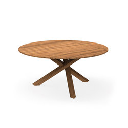 Bridge Table D. 160 | Tables à manger de jardin | Talenti