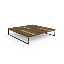 Casilda |  Table 140x140 | Tables basses de jardin | Talenti
