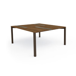 Casilda Table 150x150 | Tables à manger de jardin | Talenti