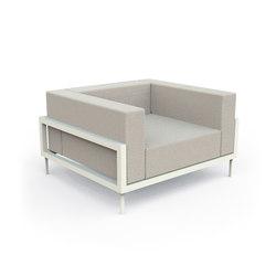 Cleo Alu Living Armchair | Garden armchairs | Talenti