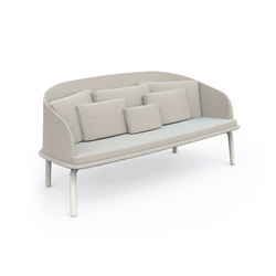 Cleo Alu Sofa Love Seat | Garden sofas | Talenti