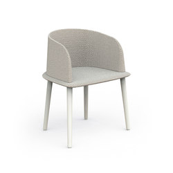 Cleo Alu | Padded Tub Chair | Chaises | Talenti