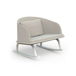Cleo Alu Rocking Chair | Fauteuils de jardin | Talenti