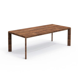 Cleo Teak Iroko Table 220X100 | Dining tables | Talenti