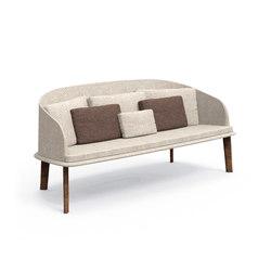 Cleo Teak Sofa Love Seat | Garden sofas | Talenti
