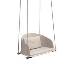 Cleo Teak Swing Chair | Swings | Talenti
