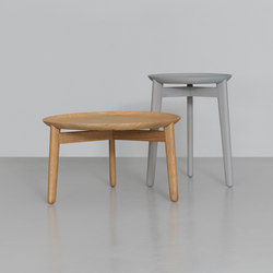 Plaisir 1 | Plaisir 2 Wood | Side tables | Zeitraum