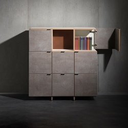 Classic Exclusive shelf-system | Shelving | mocoba