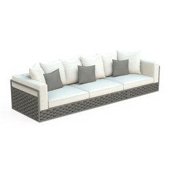 Kira 3-Seats Sofa | Garden sofas | Talenti