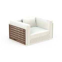 Lily Teak Living Armchair | Garden armchairs | Talenti