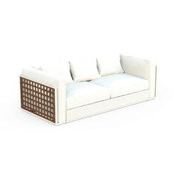 Lily Teak Sofa | Garden sofas | Talenti