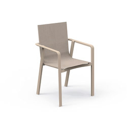 Milo Textilene Dining Armchair | Sièges de jardin | Talenti