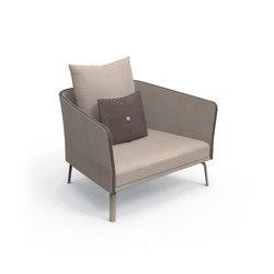 Milo Textilene Living Armchair | Sillones de jardín | Talenti