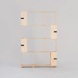 Pakiet | Shelf Set | S | Büroregalsysteme | Zieta