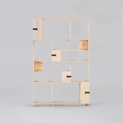 Pakiet | Shelf Set | S | Office shelving systems | Zieta