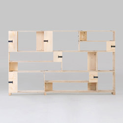 Pakiet | Shelf Set | M | Office shelving systems | Zieta
