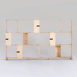 Pakiet | Shelf Set | M | Sistemi scaffale ufficio | Zieta