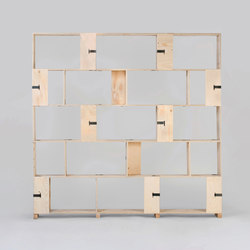 Pakiet | Shelf Set | L | Sistemi scaffale ufficio | Zieta