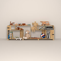 Pakiet | Shelf Set | Kids | Sistemi scaffale ufficio | Zieta