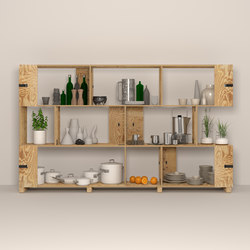 Pakiet | Shelf Set | Kitchen | Sistemas de estantería | Zieta