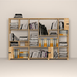 Pakiet | Shelf Set | Office | Office shelving systems | Zieta