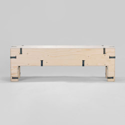 Pakiet | Bench | L | Waiting area benches | Zieta