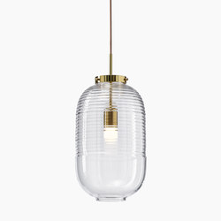 LANTERN pendant | clear | Suspended lights | Bomma