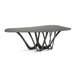 G-Table | B | black | Meeting room tables | Zieta