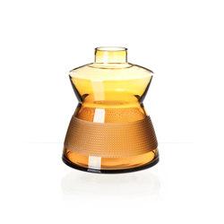 FRANTISEK VIZNER LIMITED EDITION 2016 vase 305/amber | Vasen | Bomma