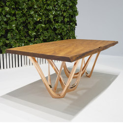 G-Table | K | Copper | Meeting room tables | Zieta