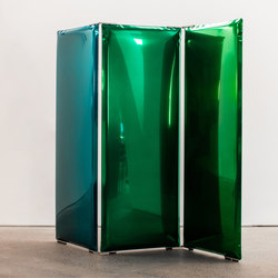 Sonar |shades from sapphire blue to emerald green | Paravents pour bureau | Zieta