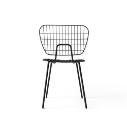 WM String Dining Chair | Black | Chairs | MENU
