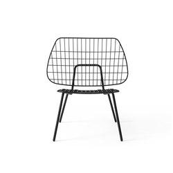 WM String Lounge Chair | Black | Armchairs | MENU