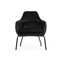 Asento black base | Armchairs | Bent Hansen