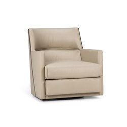 Giro Grande Swivel Lounge | Armchairs | Powell & Bonnell