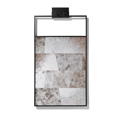 Tectonic Mirror | Wall mirrors | Powell & Bonnell