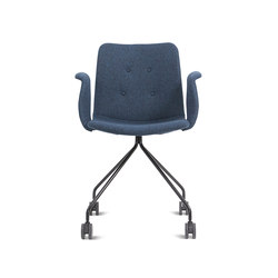 Primum Arm Chair black wheel base | Arbeitsdrehstühle | Bent Hansen