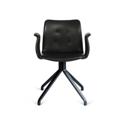 Primum Arm Chair black wooden base | Sedie ristorante | Bent Hansen