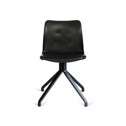 Primum Chair black wooden base | Sillas para restaurantes | Bent Hansen