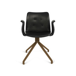 Primum Arm Chair smoked oak base | Chairs | Bent Hansen
