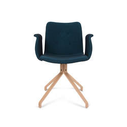 Primum Arm Chair oak base | Chaises de restaurant | Bent Hansen