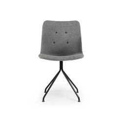 Primum Chair black fixed base | Sillas para restaurantes | Bent Hansen