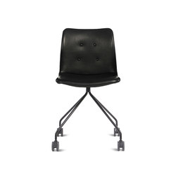 Primum Chair black wheel base | Chaises de travail | Bent Hansen