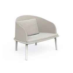 Cleo Alu Lounge Armchair | Garden armchairs | Talenti
